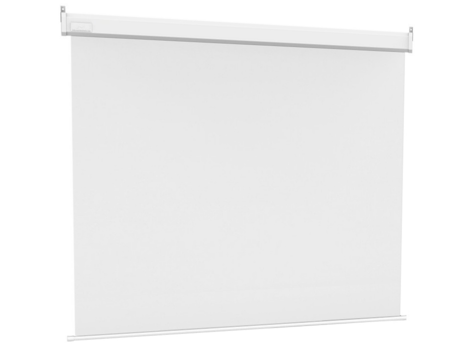 M 1:1 Motorized Projection Screen 240x240, 135